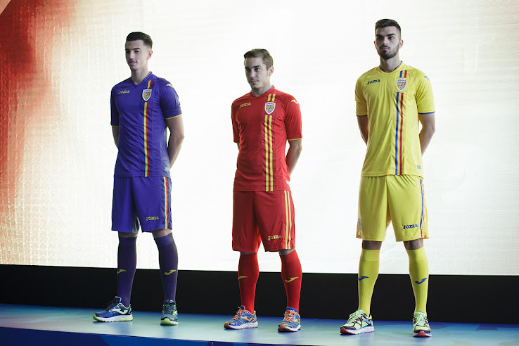 Romania 2018 Home   Away Kits + New Crest Revealed - Footy ... bb1633115