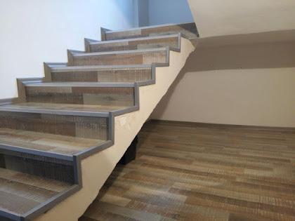 laminat parke merdiven kaplaması