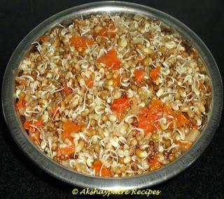 boiled matki