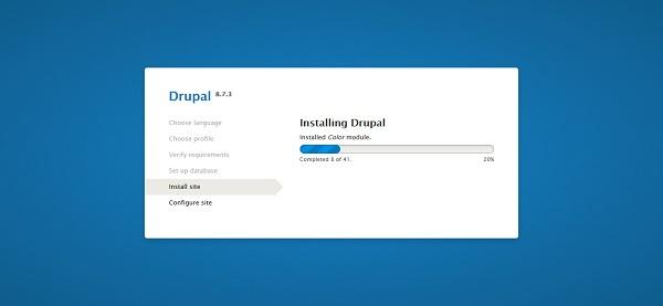 04-drupal-8-installer-install-site