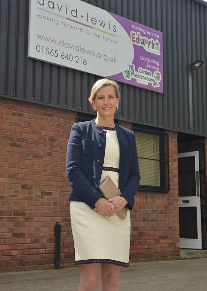 "Countess Sophie of Wessex attended ""Open Farm Sunday"" event in Hampshire and visited Community Day Services Centre in Macclesfield"