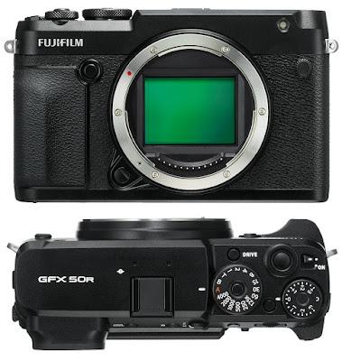 FUJIFILM Terbaru GFX 50R Dengan Frame Penuh