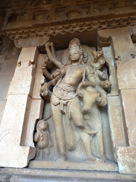 Places to see in Aihole - Durga temple - Tribhangu Shiva