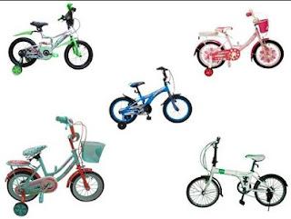 Daftar Harga Sepeda Anak Semua Merk Terbaru