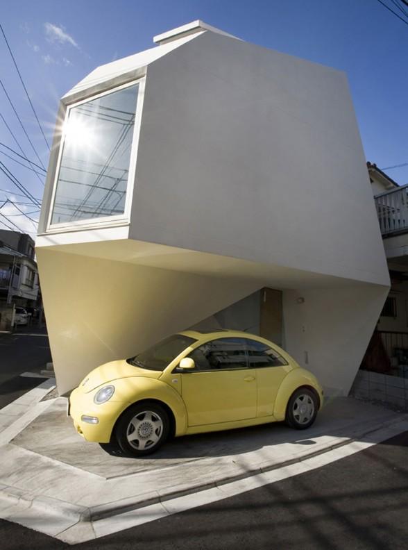 japan home design: Small Japanese House Design in Tokyo by Architect Yasuhiro Yamashita