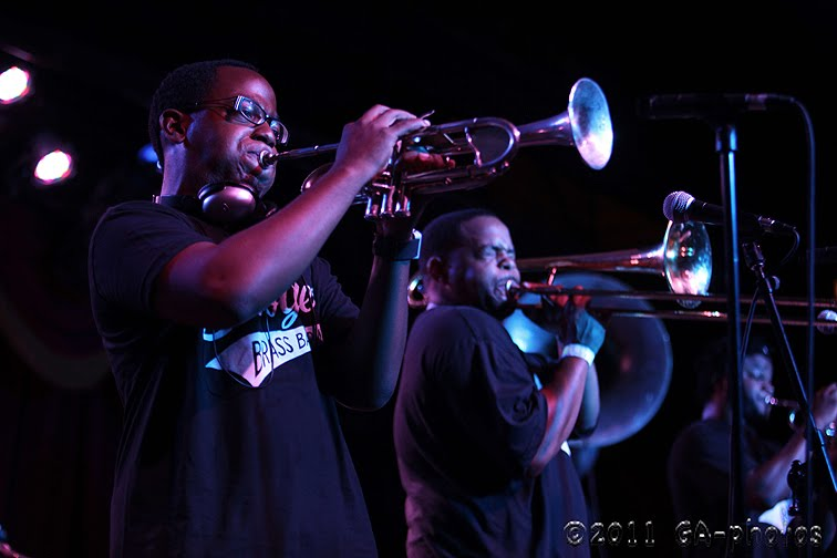 Rock The Body Electric: Live Review: Stooges Brass Band 1/12/13