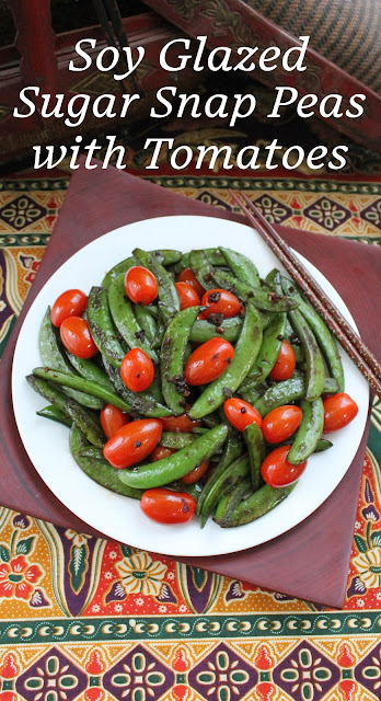 A favorite at our house, these soy glazed sugar snap peas are quick and tasty, the perfect side dish when time is short. #SundaySupper