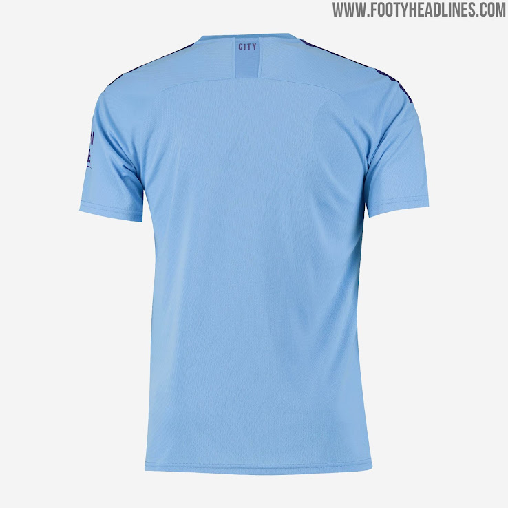 timeless design cb0ed 831ff Manchester City 19-20 Home Kit Released - Footy Headlines
