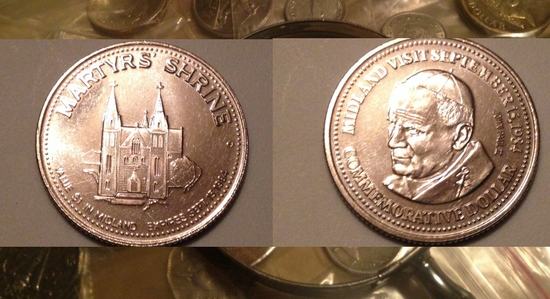 Pope John Paul II Coin