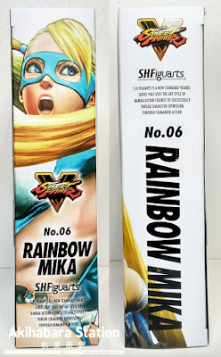 S.H.Figuarts Rainbow Mika de Street Fighter - Tamashii Nations