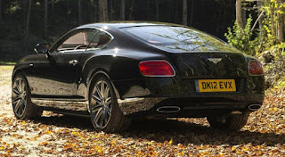 2013 Bentley Continental GT Speed Rear