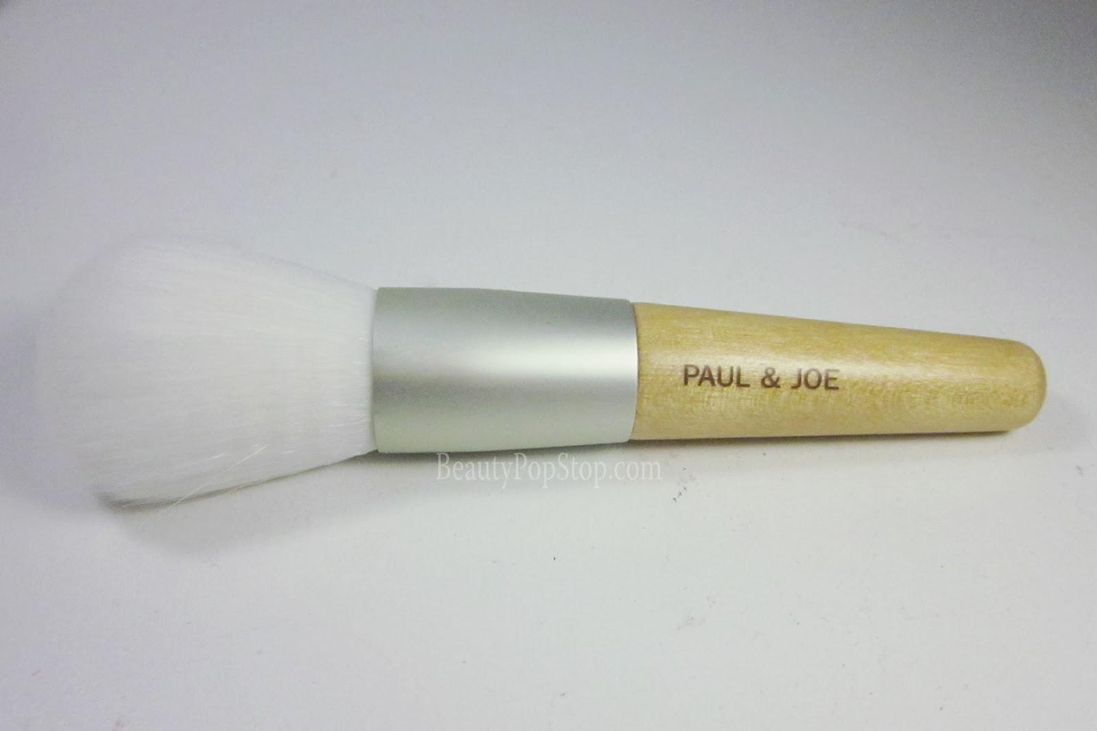 paul and joe spring 2014 powder brush review
