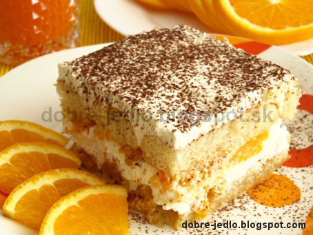 Pomarančové tiramisu - recepty