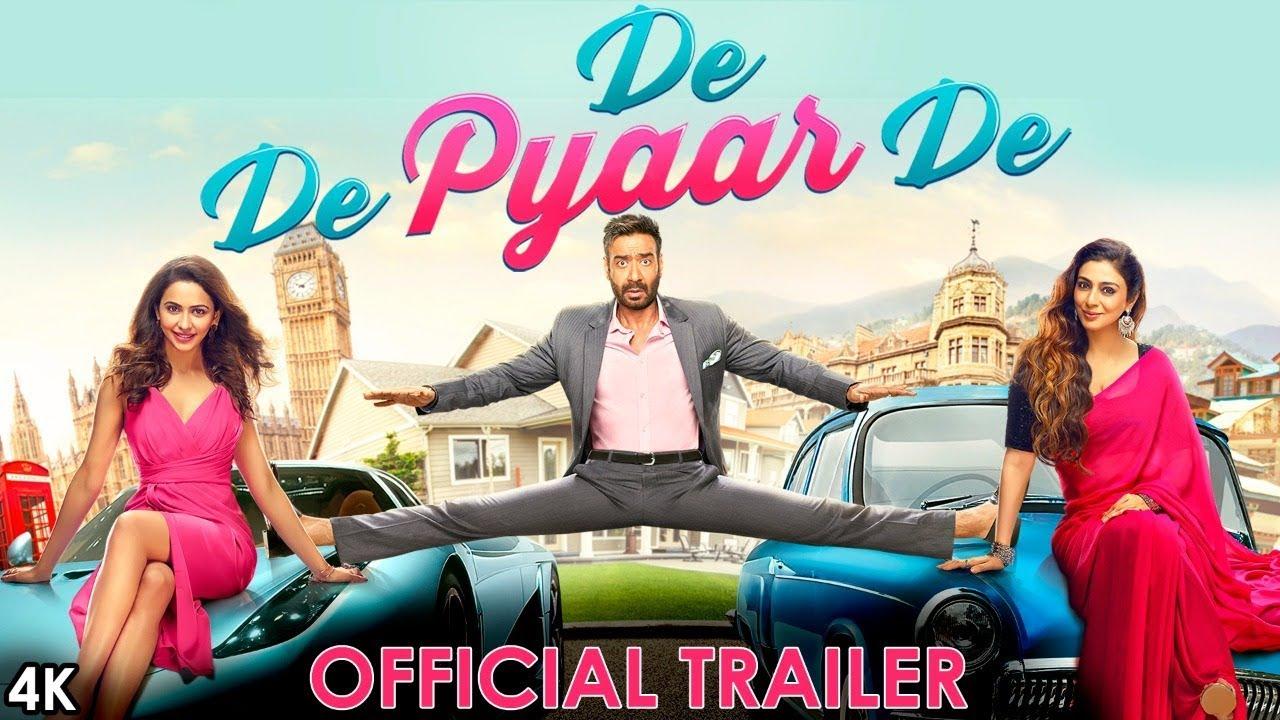 De De Pyaar De - Official Trailer | Ajay Devgn, Tabu, Rakul Preet Singh