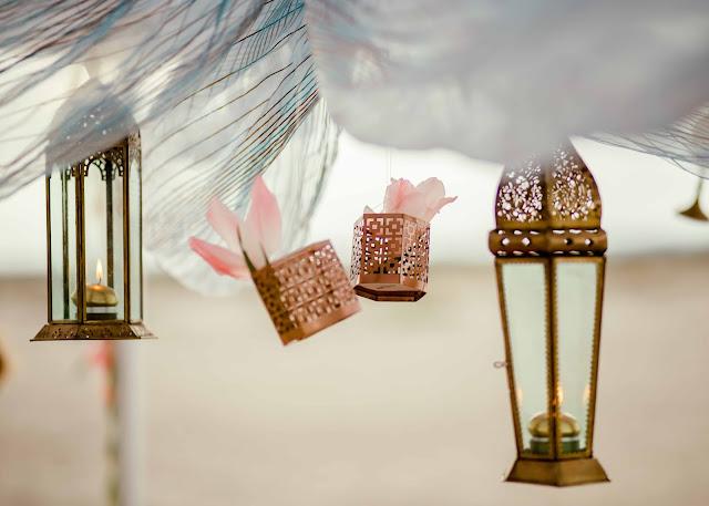 Sesja ślubna w marokańskim stylu.