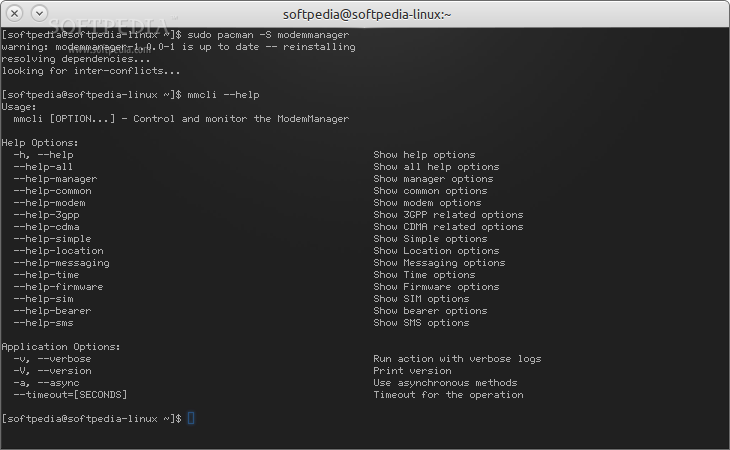 Linux Tutorial Terminal Online: ModemManager 1 4 4 is out