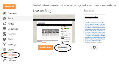 Removed Labels from Blogger