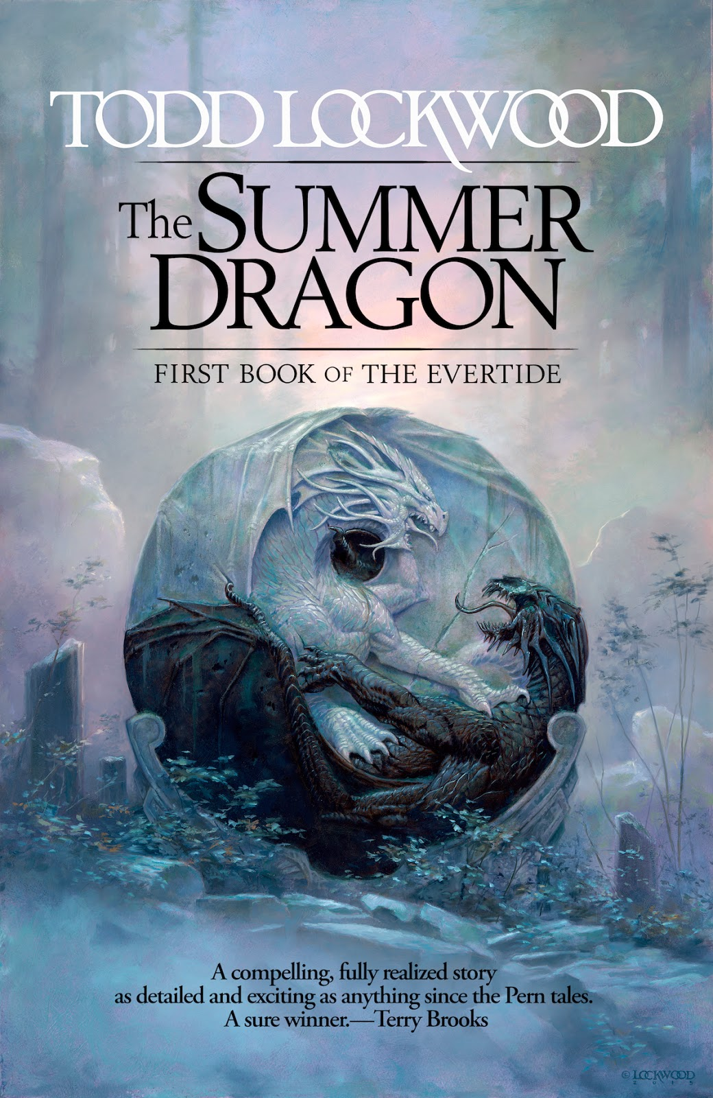 "Click Here To Order ""The Summer Dragon"" by Todd Lockwood!!!"
