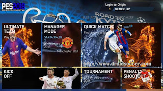 FIFA 14 Super Mod PES 2018 v1.3 Fixed Extended by Bim-Bim