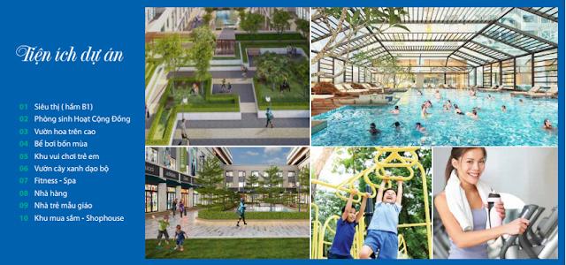 Tiện ích dự án Eurowindow River Park