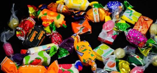 9 alimentos que fazem mal - Balas