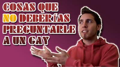 Cosas para no preguntar a un gay