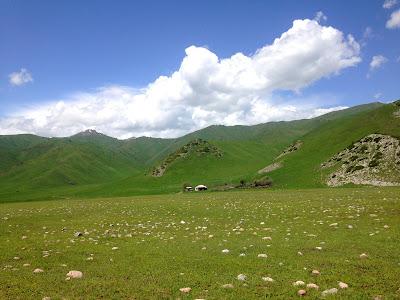 Kirgistan przejście graniczne z Kazachstanu