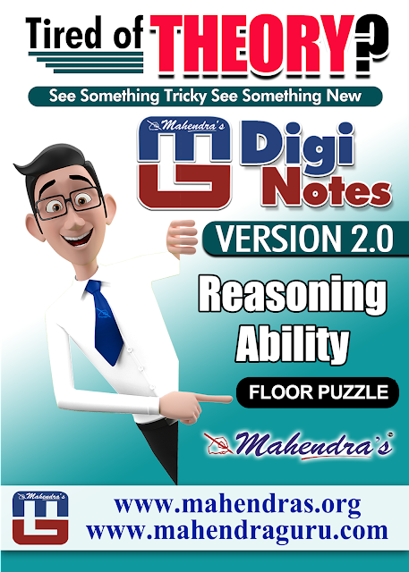 Digi Notes - 2.0 | Floor Puzzle For IBPS RRB Mains Examination 2017 | 10 .10.2017