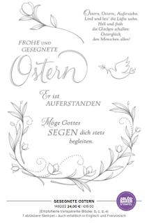 Schritt für Schritt Anleitung Schneeglöckchen Punch Art Oster Karte mit Stampin' Up! Elementstanze Fuchs