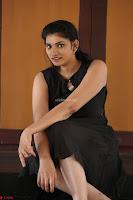 Khanishka new telugu actress in Black Dress Spicy Pics 15.JPG