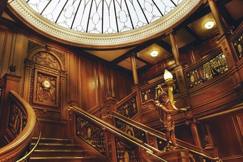 The Grand Staircase. - The Titanic Museum in Branson