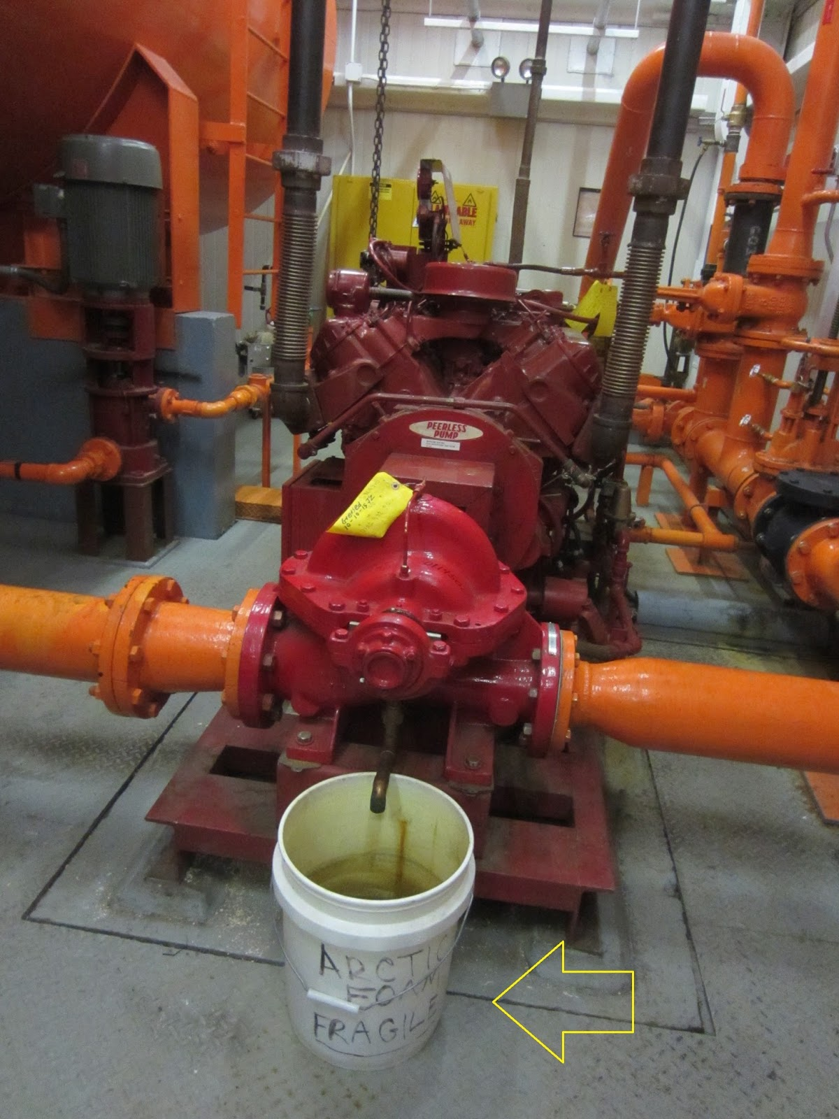 Fire Protection Deficiencies: On Fire Pumps