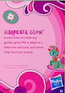 My Little Pony Pony Collection Set Gardenia Glow Blind Bag Card