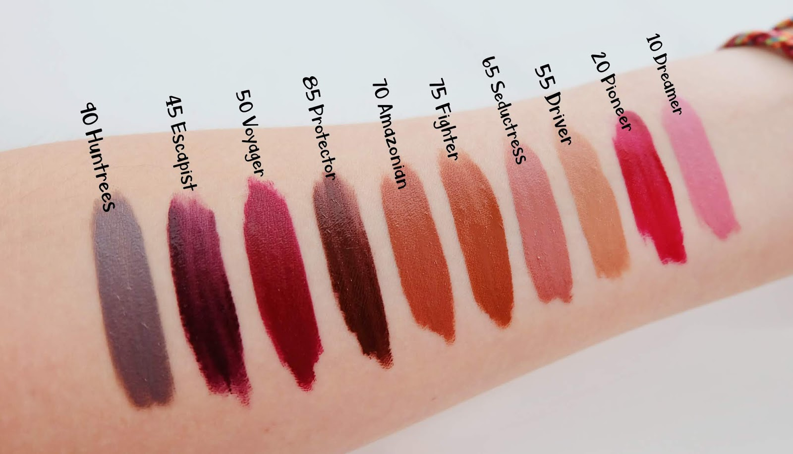 Maybelline Superstay Swatches | www.bigdreamerblog.com