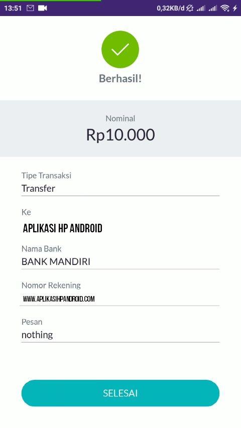 Cara Transfer Saldo dari Akun OVO ke Semua Rekening Bank 7