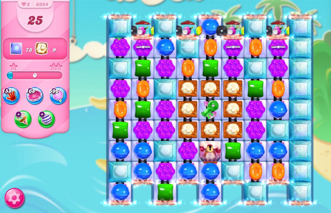Candy Crush Saga level 6364