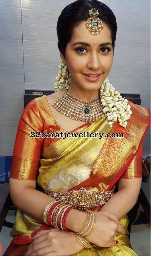 Rashi Khanna Diamond Vaddanam
