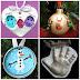 Kid Made Ornament Keepsakes