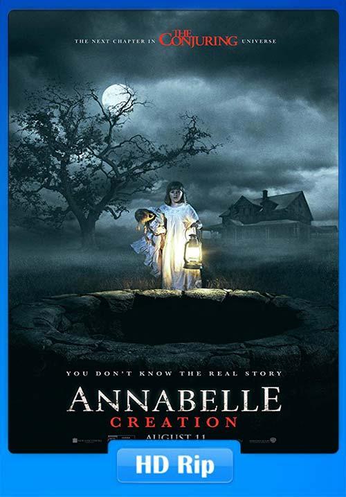 Annabelle Creation 2017 Dual Audio Hindi 720p HC HDRip x264 | 480p 300MB | 100MB HEVC