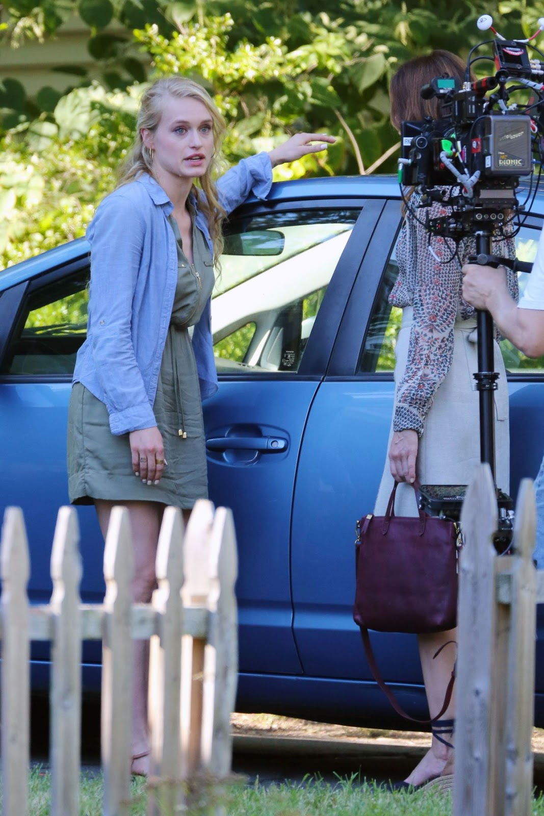 Michelle Monaghan On The Set Of The Path Tv Series In New York