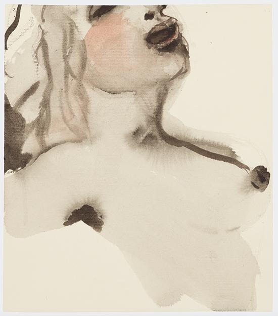 drawing Marlene Dumas Venus in bliss, 2015-2016