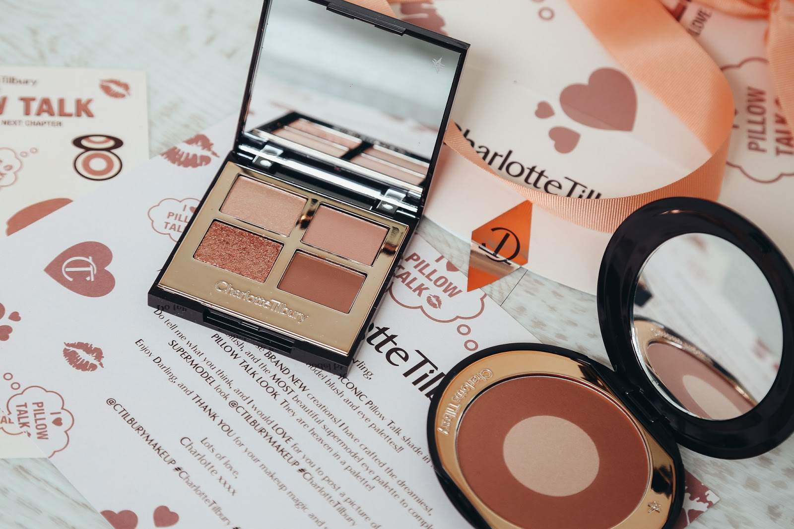 Charlotte Tilbury Pillow Talk eye shadow