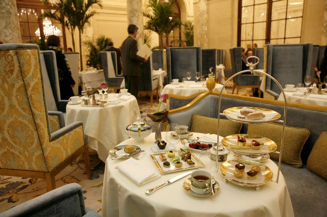 The French Touch Tea At The Plaza With Eloise And Madeline