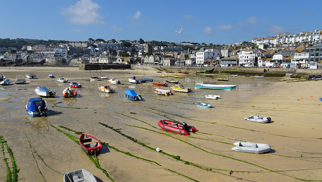 St.Ives harbour on the South West Coast Path taken on my Land's End to John O'Groats walk 2018