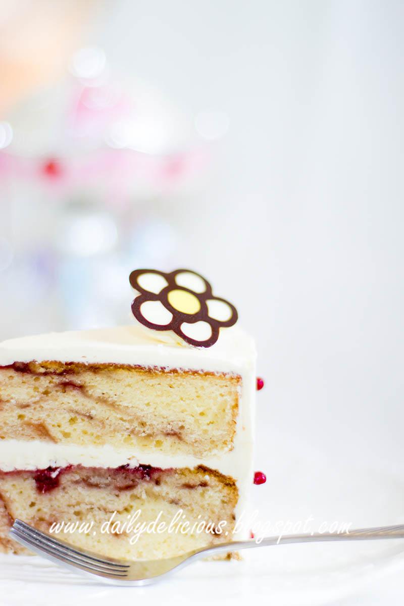 Vanilla Slice Birthday Cake Melbourne