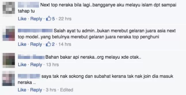 Next Top Model Melayu, Tuti Digelar Ahli Neraka