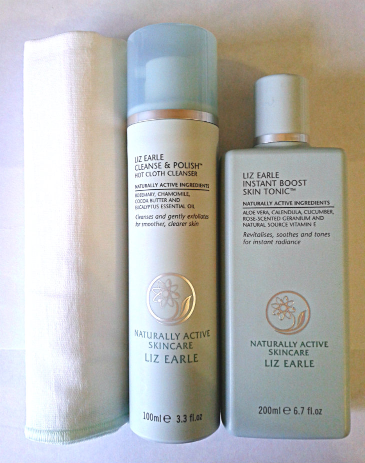 Liz Earle Cleanse and Polish and Instant Skin Boost Tonic