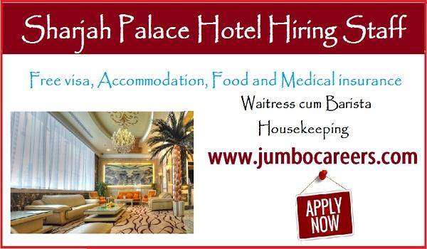 hotel job vacancies in UAE, house keeping jobs in UAE,