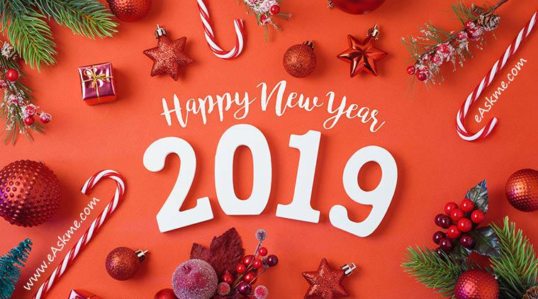 Happy New Year 2019: eAskme