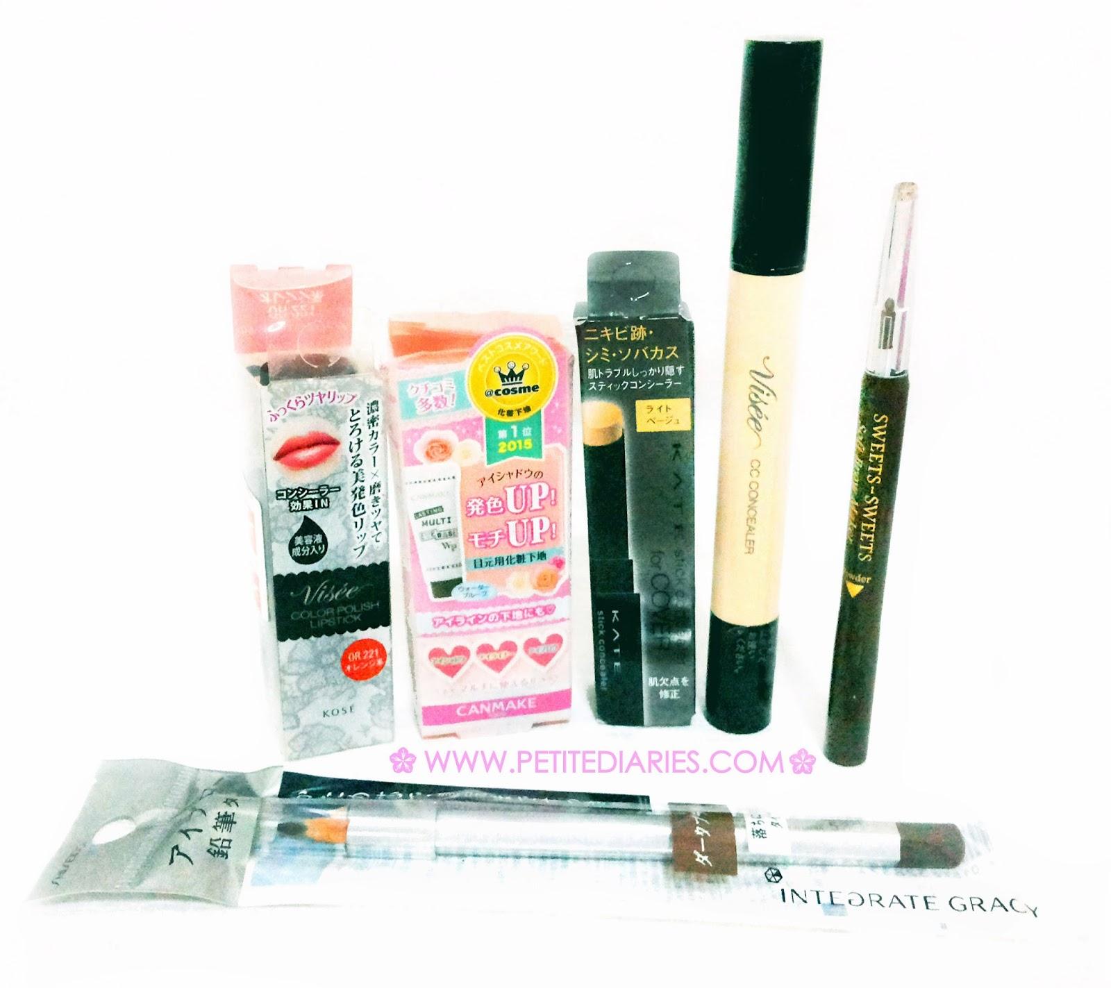 japan make up haul
